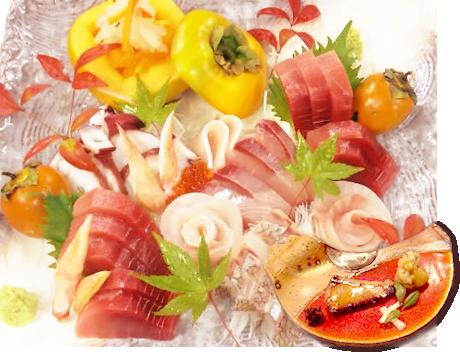 ランチ・ディナー・ご宴会。厳選食材で織りなす旬の味。