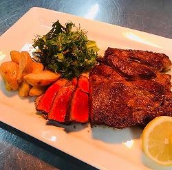 約1kgのかたまり肉ステーキ
